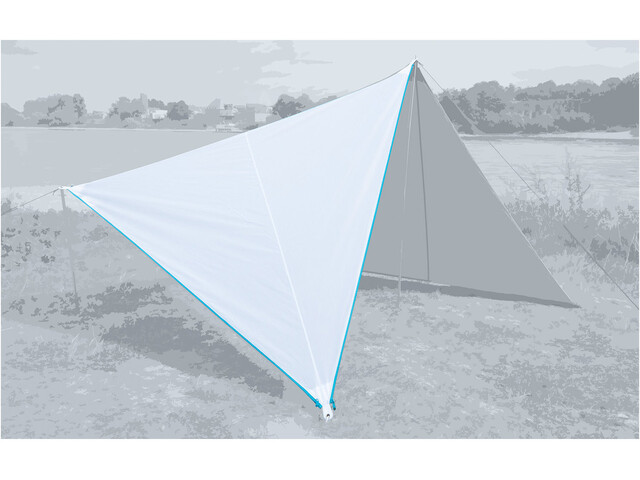 Bent Canvas Single Plain Lona, blanco